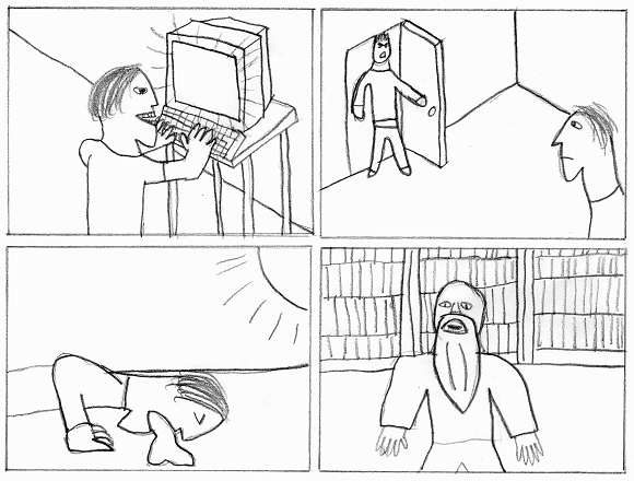 The blank comic created by Arkbrik